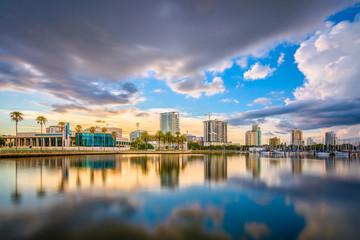 Wall Mural - St. Petersburg, Florida, USA Skyline