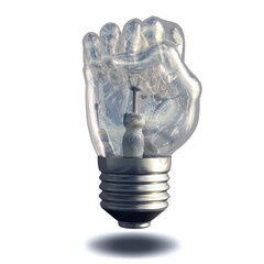 Fist Lightbulb