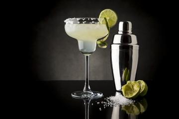 Lime margarita cocktail