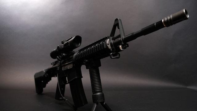 Black Rifle Gun
