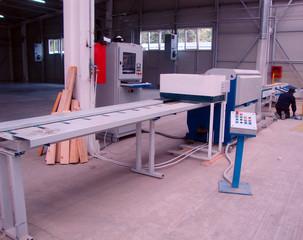Factory production wood beams