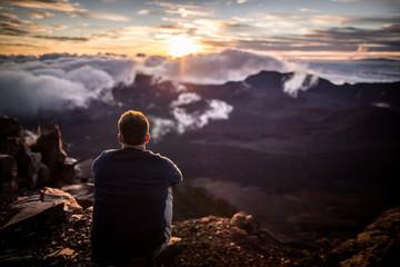 Taking in the Haleakala Sunrise on Maui