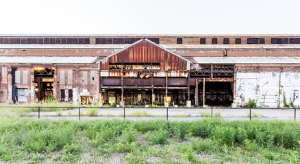 urban warehouse building
