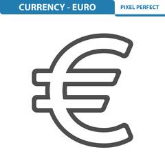 Euro Icon. EPS 8 format.