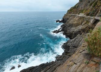 Summer Riomaggiore outskirts, Cinque Terre