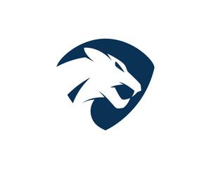 Puma Logo design vector illustration