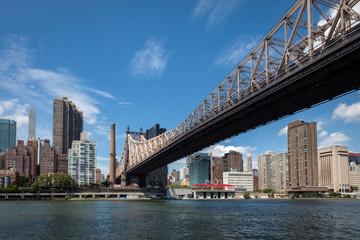 Queensboro Bridge Roosevelt Island to Manhattan