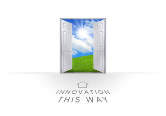 This Way Open Doorway - Innovation