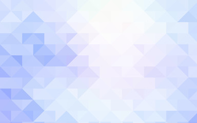 Light BLUE vector low poly pattern.