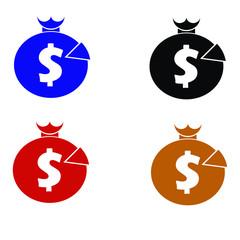 Tax Service vector logo and symbol design