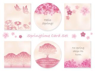春のカードセット