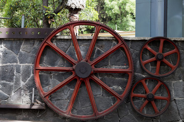 wheel, wooden, wagon, wood, antique, cart, vintage,