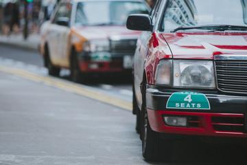 Hong Kong Taxi Cab