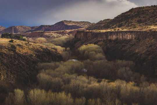 Dramatic Sky Over S.O.B. Canyon