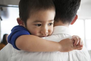 抱っこ大好きな男の子。可愛い。