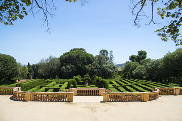 The Parc del Laberint d'Horta, Barcelona