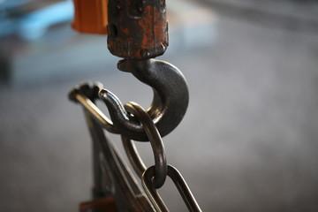 工場の吊りフック