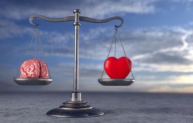 Waage - Herz und Kopf