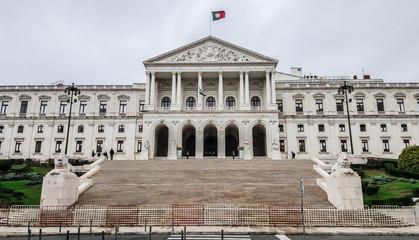 Portuguese Parliament (Sao Bento Palace). Lisboa, Portugal