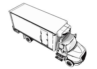 sketch of the truck vector.