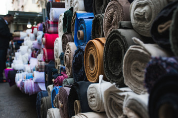 Street Selling Fabric