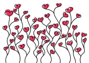 amour - cœur - fleur - je t'aime - romantique - couple - sentiment - amoureux - lettre d'amour - romance