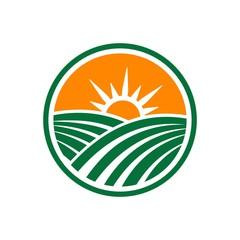 Agriculture Logo, Landscape logo