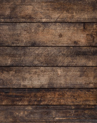 Rustic grunge weathered wooden planks background, sharp and highly detailed