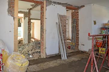 Renovierung von Haus, Umbau
