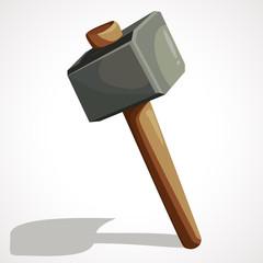 Cartoon sledge hammer