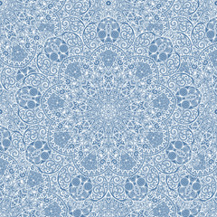 Seamless paisley background elegant pattern.
