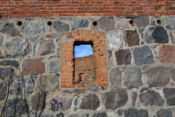 Impressions from Klanino, a Kashubian village in Pomerania, where you can see photographs of the old barn, Poland, Europe