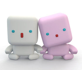 robo happy friends