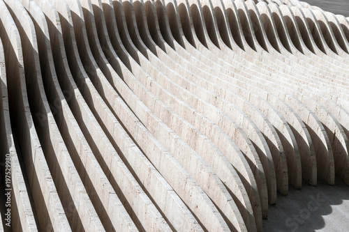 Sections Of The Concrete Wall Abstract Background Stock