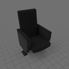 Open movie chair