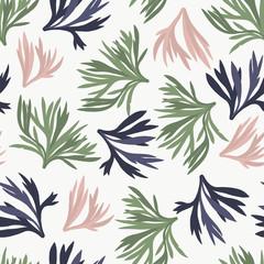Maison de fleurs. Flowers and florals seamless pattern #3