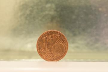 1 cent euro coin