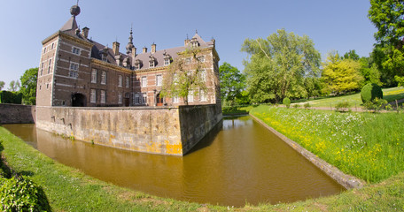 Eijsden Castle and its Vegetation in May