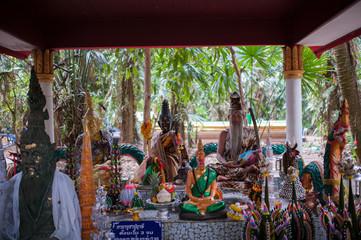 Wat kham chanot, Thailand