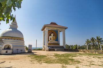 Temple Wella Devalaya in Unawatuna, Sri Lanka