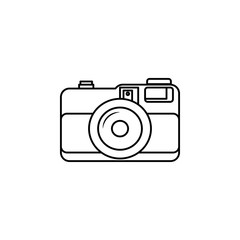 camera icon.Element of popular camera icon. Premium quality graphic design. Signs, symbols collection icon for websites, web design,