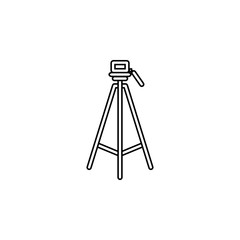 tripod icon.Element of popular camera icon. Premium quality graphic design. Signs, symbols collection icon for websites, web design,