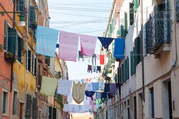 Gasse in Venedig, Italien