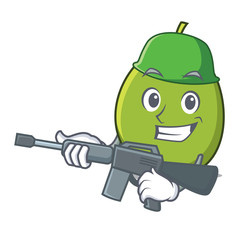 Army olive character cartoon style