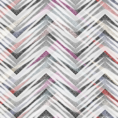 Abstract seamless colorful zigzag geometric pattern.