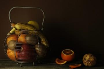still life orange