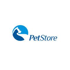 Vector logo design template for Pet Store