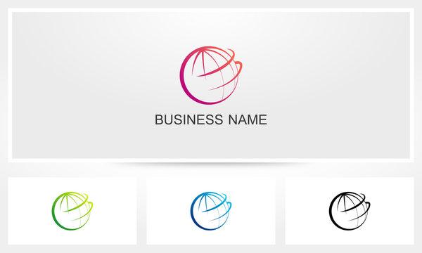 Globe Global Lines Logo