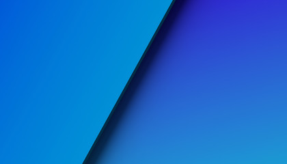 Abstract 3d rendering of a surface with gradient. Modern geometric background. Minimalistic design for poster, cover, branding, banner, placard.
