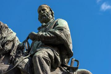 Statue of Giuseppe Garibaldi - Verona Italy